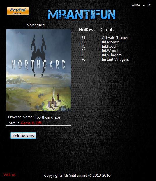 Скачать трейнер для northgard