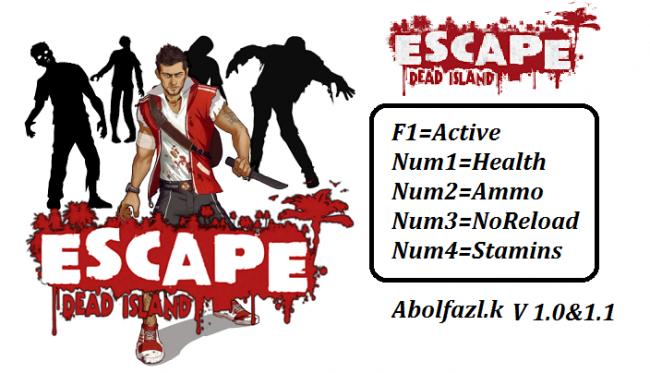 Коды на Escape Dead Island