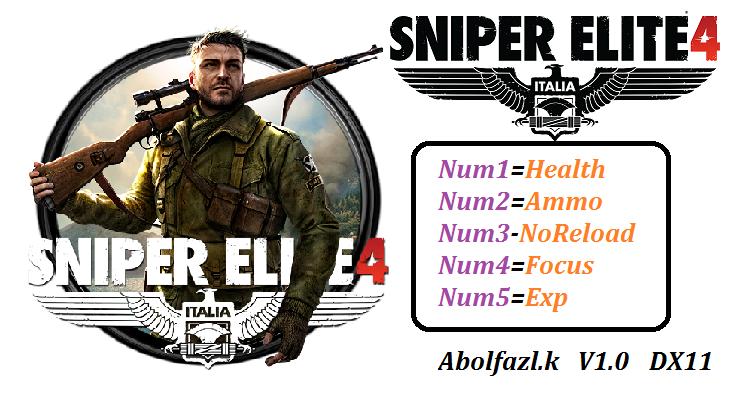Sniper Elite 4 Скачать Трейнер - фото 6