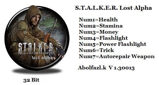 скачать трейнер для Stalker Lost Alpha - фото 7