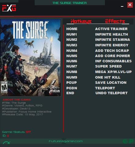 скачать трейнер для The Surge - фото 3