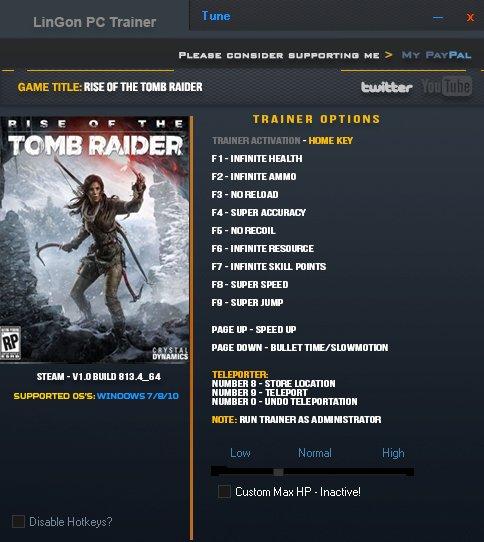 Download rise of the tomb raider steam v1. 0. 623. 2 17 trainer for.