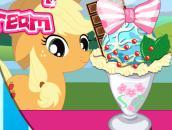 Little Pony Ice Cream: Мороженное на пони