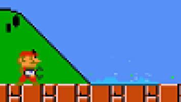 Марио подружился с серией Portal