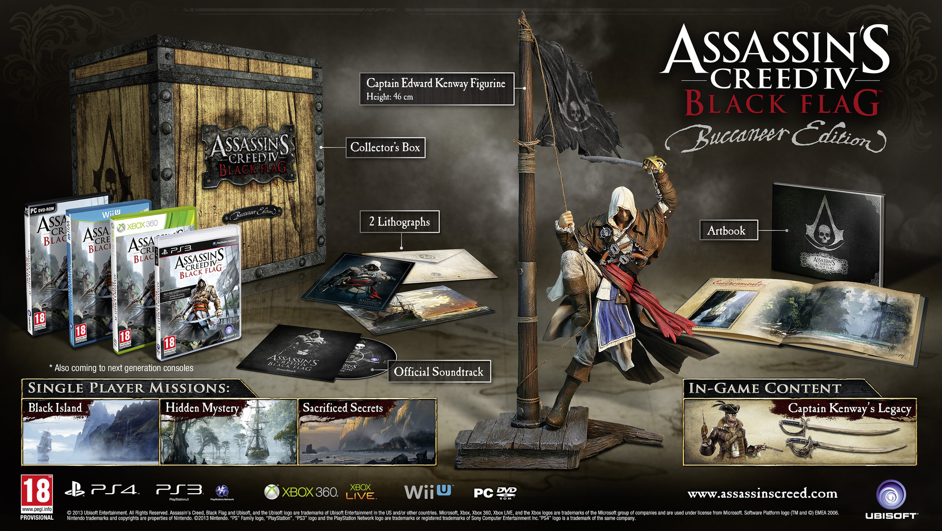 Assassin�s Creed 4: Black Flag: ������������� �������