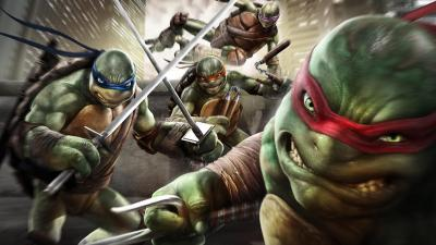 Teenage Mutant Ninja Turtles: Out of the Shadows. Кирпич-башка