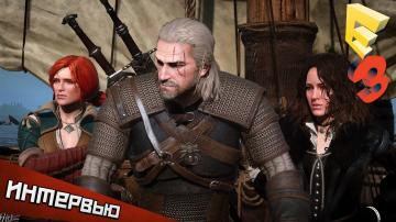 The Witcher 3: Wild Hunt — интервью с E3 от PlayGround.ru