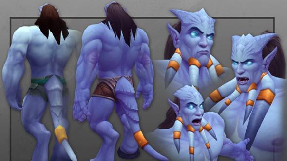 Улучшение моделей Дренеев в Warlords of Draenor не стало радикальным