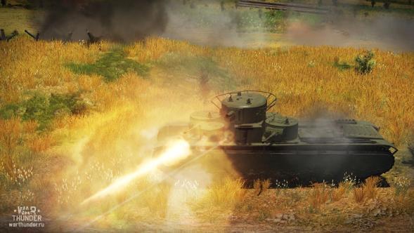 War Thunder: Поддержка многобашенных танков в обновлении 1.43