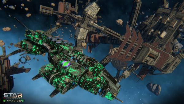 «Вторжение» вStar Conflict начинается