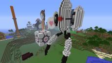 Portal 2 был воссоздан в Minecraft