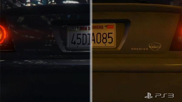 Сравнительное видео GTA 5 на PS3 и PS4
