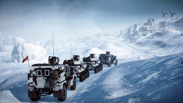 Зимний патч и карта от сообщества в Battlefield 4
