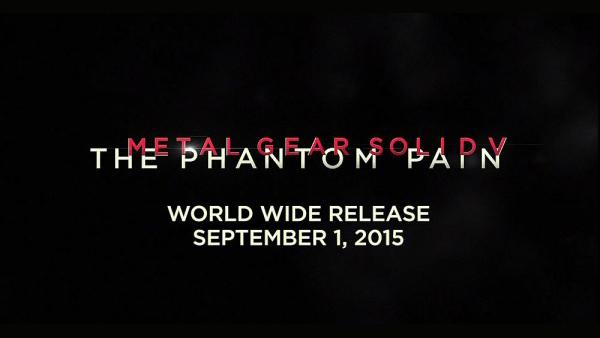MGS 5: The Phantom Pain выйдет в сентябре и станет последней игрой серии от Хидео Кодзима