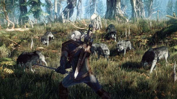 PC-геймплей The Witcher 3: Wild Hunt с конференции GDC 2015