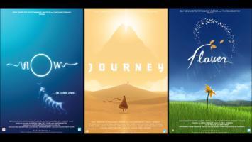 Journey, Flower и flOw выйдут этим летом в составе трилогии для PS4 в 1080p и с 60fps