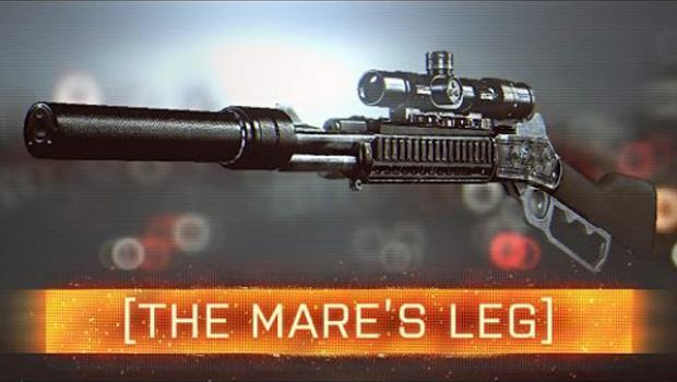 Подробности винтовки Mare's Leg, которая появится в Battlefield 4