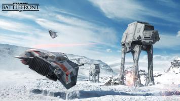Высможете летать насноуспидерах и«Тысячелетнем соколе» вStar Wars: Battlefront