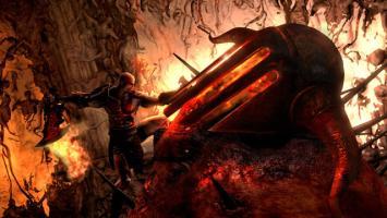 Битва Кратоса с Аидом в God of War 3 Remastered