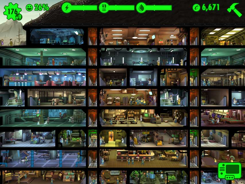 Играть Fallout Shelter на PC | busines-all com