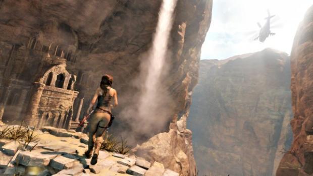 Новый геймплейный ролик Rise of the Tomb Raider