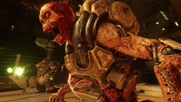 ВСети появился кровавый трейлер хоррор-шутера Doom
