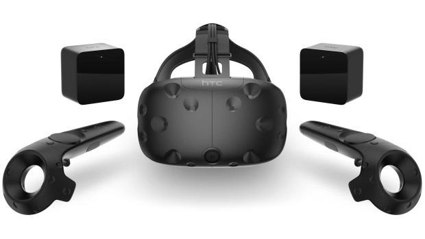 Комплект устройства виртуальной реальности Vive от Valve и HTC обойдется в $800
