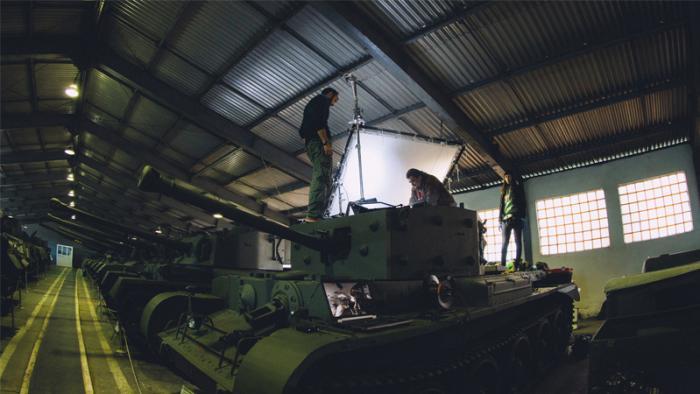 Компания Wargaming показала новое видео в формате 360 градусов