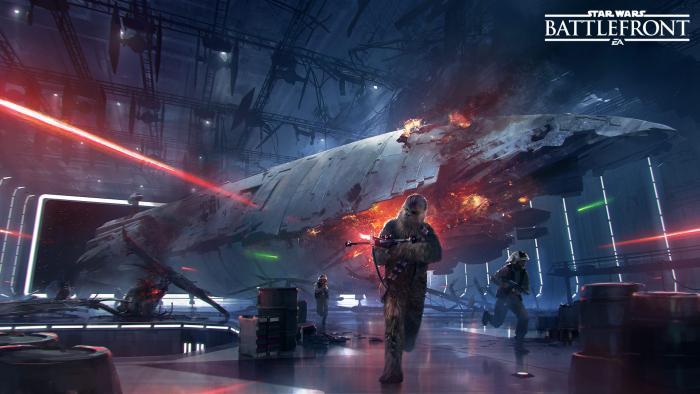 В дополнении'Звезда смерти для Star Wars Battlefront появится Чуи