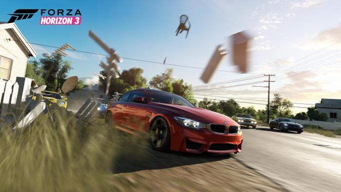 Несколько скнришотов Forza Horizon 3 с выставки Gamescom 2016