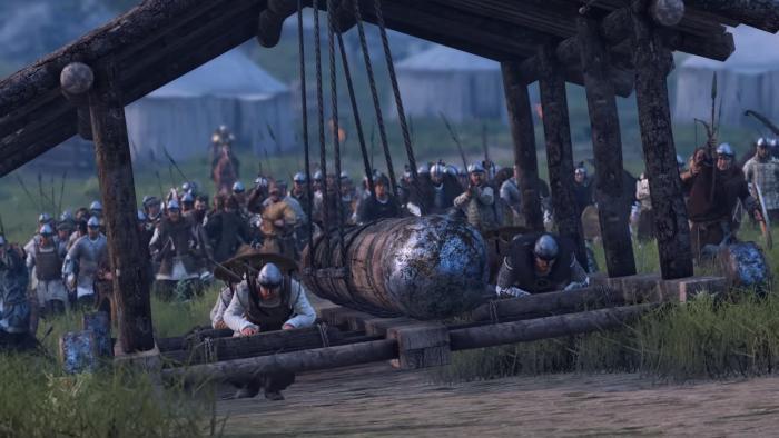 Средневековая осада в геймплейном ролике Mount & Blade 2: Bannerlord с Gamescom 2016