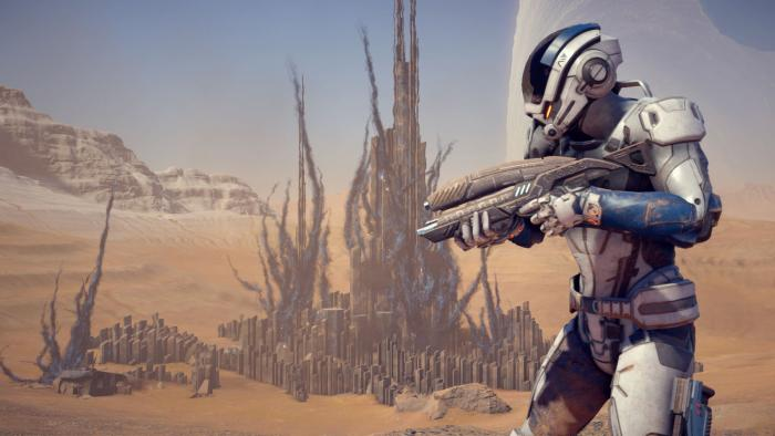 BioWare поздравит игроков новым геймплеем Mass Effect: Andromeda
