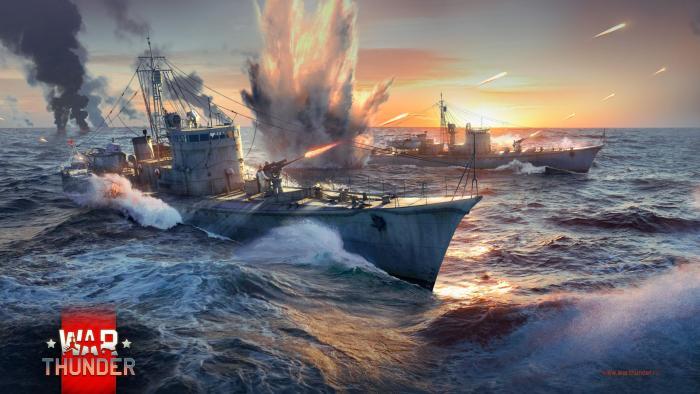 War Thunder— Морские баталии выходного дня