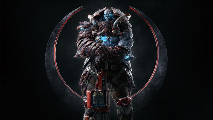 Разработчики Quake Champions представили нового персонажа