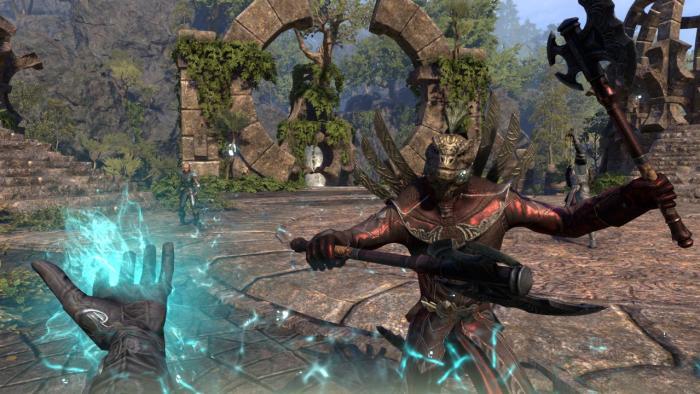 Трейлер нового игрового режима из дополнения The Elder Scrolls Online: Morrowind