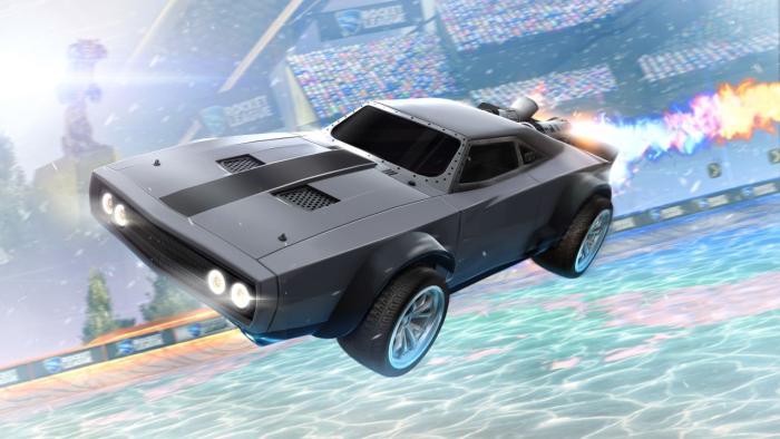 ВRocket League появится автомобиль изфильма «Форсаж 8»