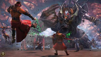 Skyforge вышла на Playstation 4