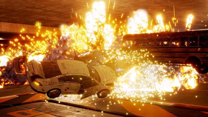 Игра Danger Zone, духовный наследник Burnout, уже вышла