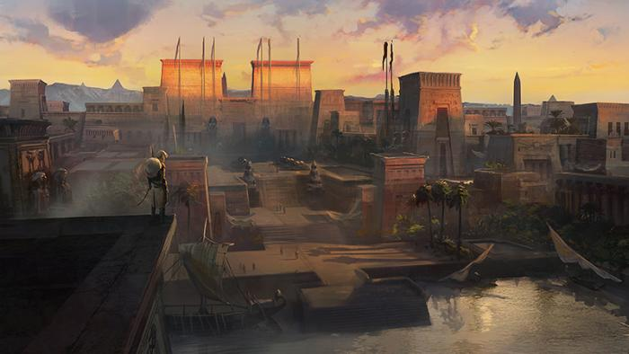 Города в Assassin's Creed: Origins будут масштабными и невероятными