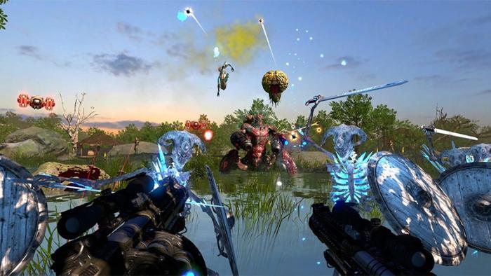Croteam анонсировала древо скиллов для виртуального шутера Serious Sam VR: The Last Hope