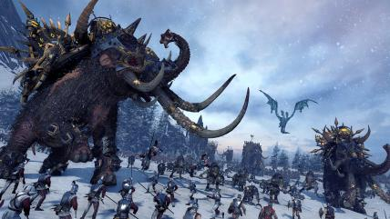 На поля сражений Total War: Warhammer врываются воинственные северяне Норски