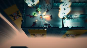 В Steam еще доступен яркий помесь Hotline Miami да Superhot с разработчиков Crimsonland