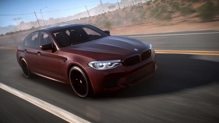Запись полной гонки в геймплейном ролике Need for Speed Payback
