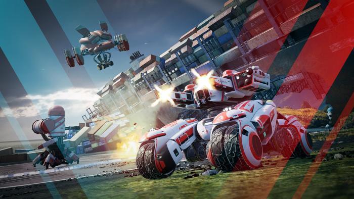 Анонсирован автомобильный шутер Switchblade от разработчиков Blur и Project Gotham Racing