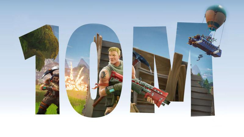 Количество единовременных игроков Fortnite Battle Royale превысило 500 тыс.