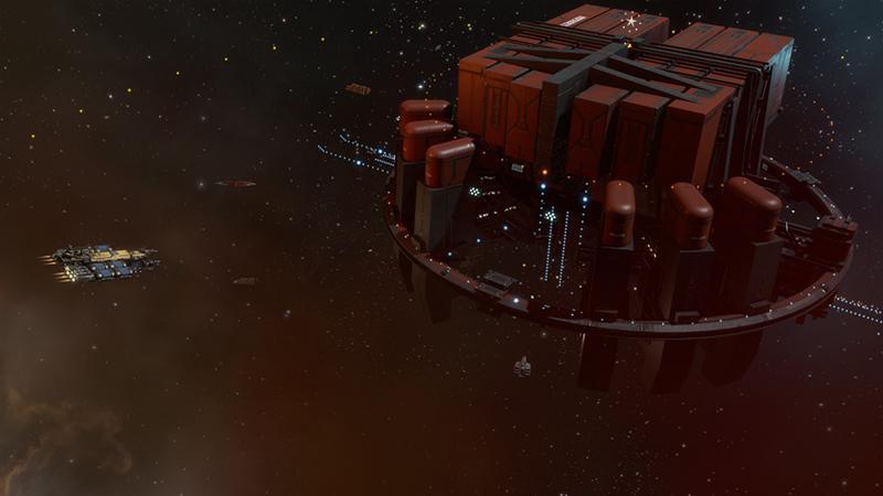 Для EVE Online вышло масштабное дополнение Lifeblood с новыми геймплейными механиками
