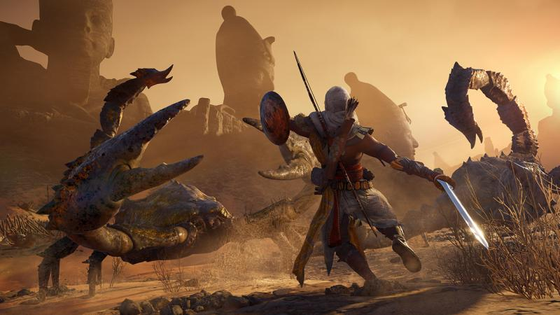 Ubisoft защитила Assassin's Creed: Origins от пиратов на целый месяц