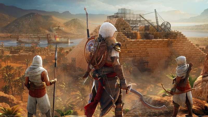Assassin's Creed: Origins получит бесплатное обновление вместе с грядущим DLC