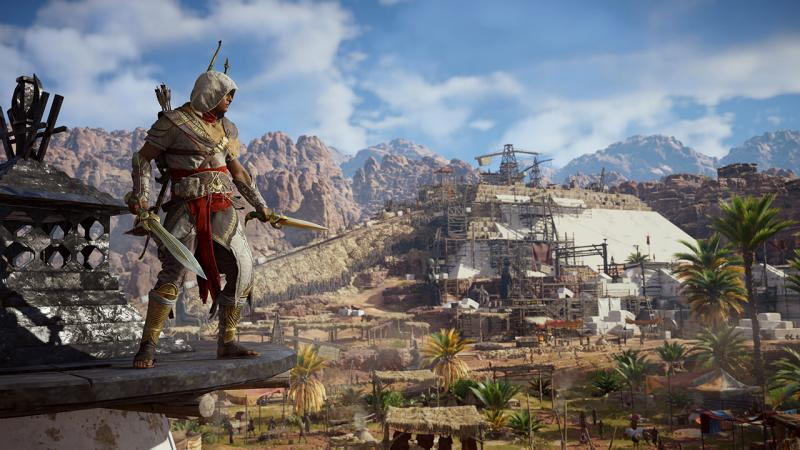 Ubisoft назвала точные даты релиза грядущих дополнений к Assassin's Creed: Origins