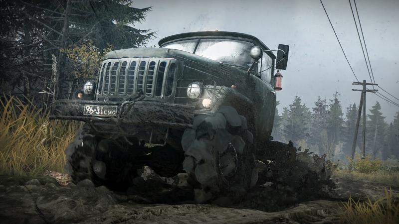 В феврале выходит бесплатное дополнение The Valley для симулятора Spintires: MudRunner